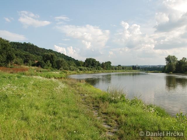 Povodí Vltavy v Praze-Troji