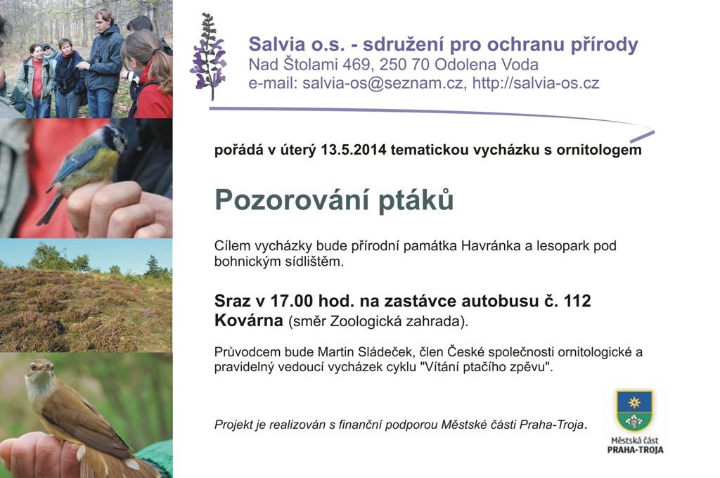 vycházka pozorování ptáků_13.5.2014