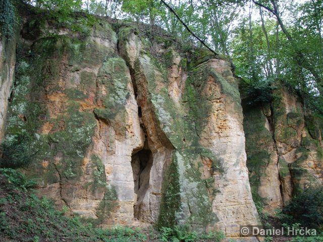 STŘEŠOVICKÉ SKÁLY – přírodní památka